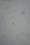 オッサンクエストを描いてみた。