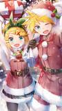 クリスマスにリンちゃんとレン君から送られてきたやつ