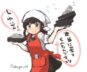 お蕎麦食べに吹雪ちゃんがお手伝いしてる間宮にいこーぜ!!!
