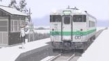 北海道の小さな駅