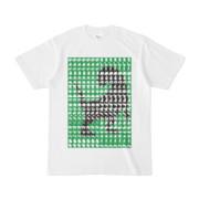 シンプルデザインTシャツ MONSTER-REX41(GREEN)