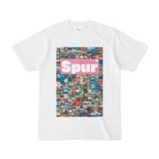 シンプルデザインTシャツ Spur_176/2(VIOLET)