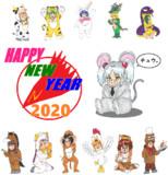 【賀正】謹賀新年【2020】