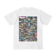 シンプルデザインTシャツ Spur=170(PURPLE)