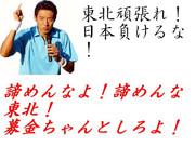 がんばれ東北!負けるな日本!