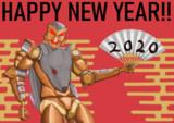 ラットル 年賀状2020