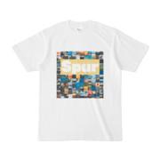 シンプルデザインTシャツ Spur_BOX104(KHAKI)