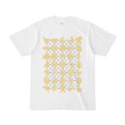 シンプルデザインTシャツ NET35☆MONSTER(KHAKI)
