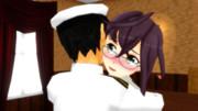 【MMD】沖波と再会【艦これ】