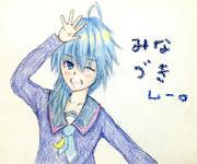 水無月さんとお絵描き練習2
