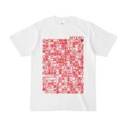 シンプルデザインTシャツ TOY☆TANKER(CRIMSON)