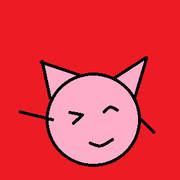 猫耳ピンクボール