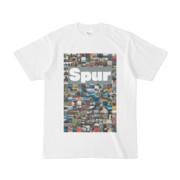 シンプルデザインTシャツ Spur/176_A(GRAY)