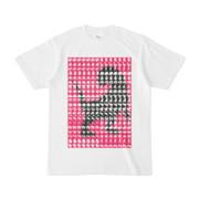 シンプルデザインTシャツ MONSTER-REX41(MAGENTA)