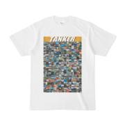 シンプルデザインTシャツ TANKER_300(GOLD)