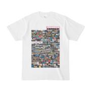シンプルデザインTシャツ TANKER_on300(VIOLET)