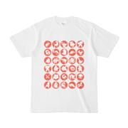 シンプルデザインTシャツ C.MONSTER(TOMATO)