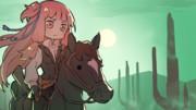 """【サムネイラスト】琴葉姉妹と""""Red Dead Redemption 2""""の世界【Ep.08】"""