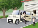 1人乗り小型無人タクシー