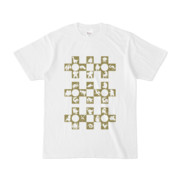 シンプルデザインTシャツ Cr/MONSTER(OLIVE)