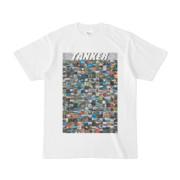 シンプルデザインTシャツ TANKER_300(SILVER)