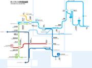 そこそこの町路線図(第7回時点)
