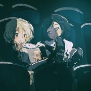 カーラと黒田2