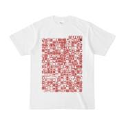 シンプルデザインTシャツ TOY☆TANKER(BROWN)