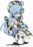 青い髪の幼女・プリス