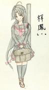 祥鳳さんとお絵描き練習