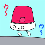 【GIFアニメ】かわいい警察【よその子】