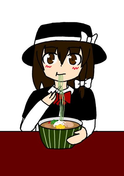 サボテンを食べる蓮子