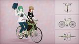 【MMDモデル配布】ソーシャブル自転車