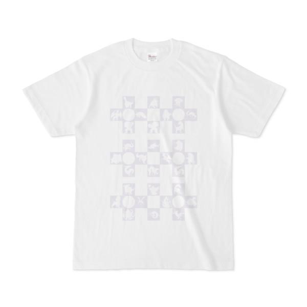シンプルデザインTシャツ Cr/MONSTER(LAVENDER)