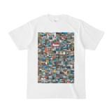 シンプルデザインTシャツ 276-Spur(MAROON)