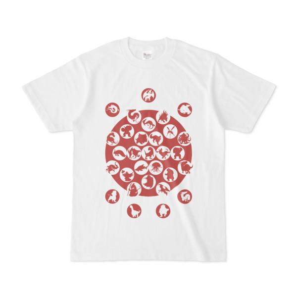 シンプルデザインTシャツ M_Ladybird(BROWN)