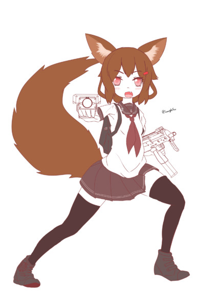 雷狐「もーっとモフっていいのよ!」