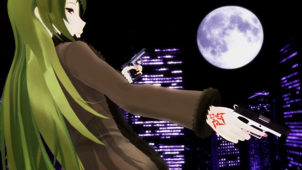 S.N.D.さんの組み立てガバメントで玲霞さん!【Fate/MMD】