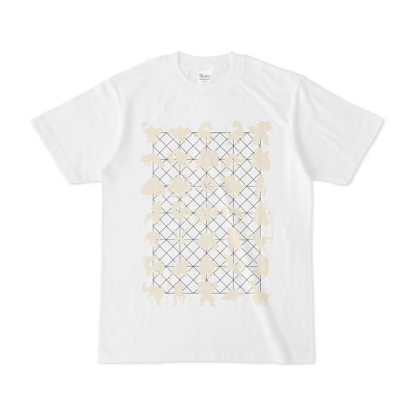 シンプルデザインTシャツ NET35☆MONSTER(BEIGE)
