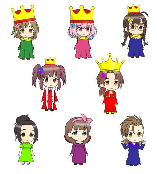 DQ2の王族の人たち