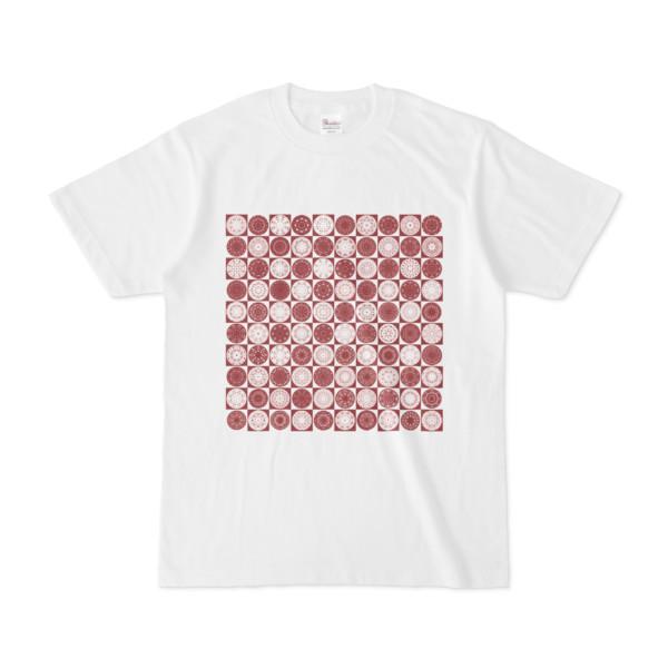 シンプルデザインTシャツ Othello(MAROON)