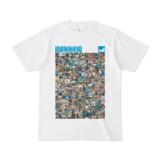 シンプルデザインTシャツ ANIMAL☆TANKER(CYAN)