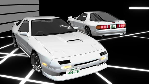 【モデル配布】FC3S RX-7