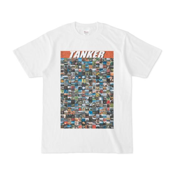 シンプルデザインTシャツ TANKER_300(CHOCOLATE)