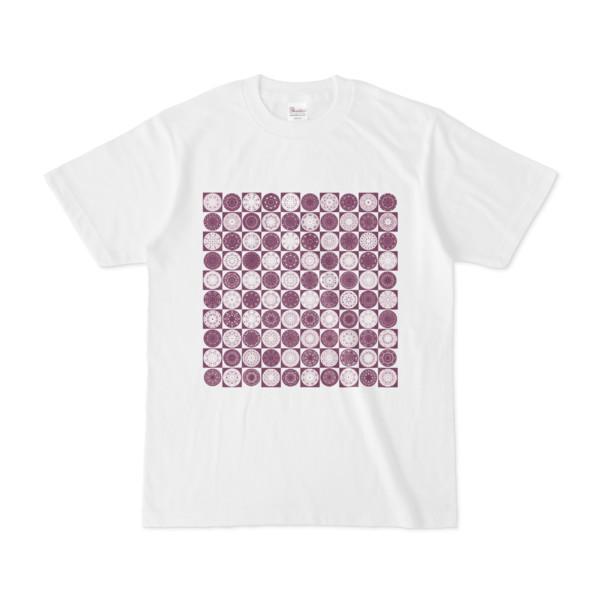 シンプルデザインTシャツ Othello(PURPLE)