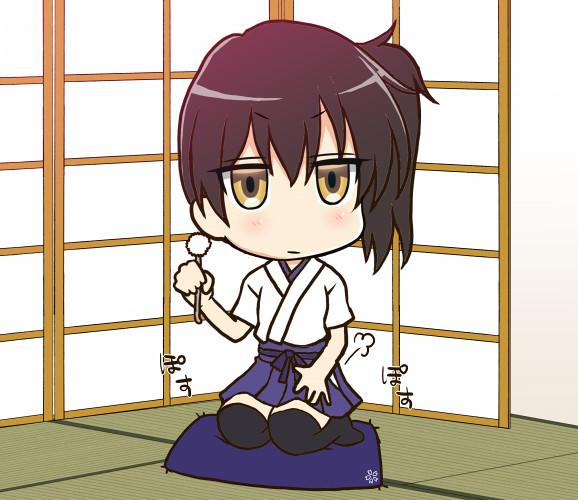 加賀さんがこっちをじっと見てくる