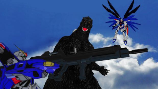 自由と運命VS破壊神