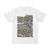シンプルデザインTシャツ TANKER_on300(ORANGE)
