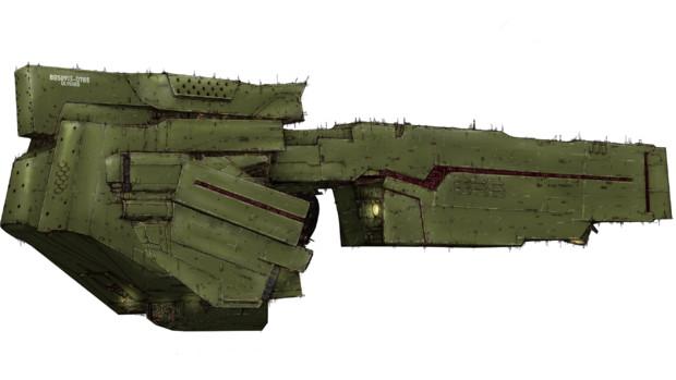 ノイエ版同盟軍標準戦艦