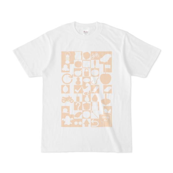 シンプルデザインTシャツ Spur/icon41(ORANGE)